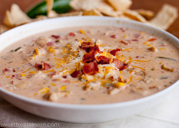 Jalapeño Popper Chicken Chili