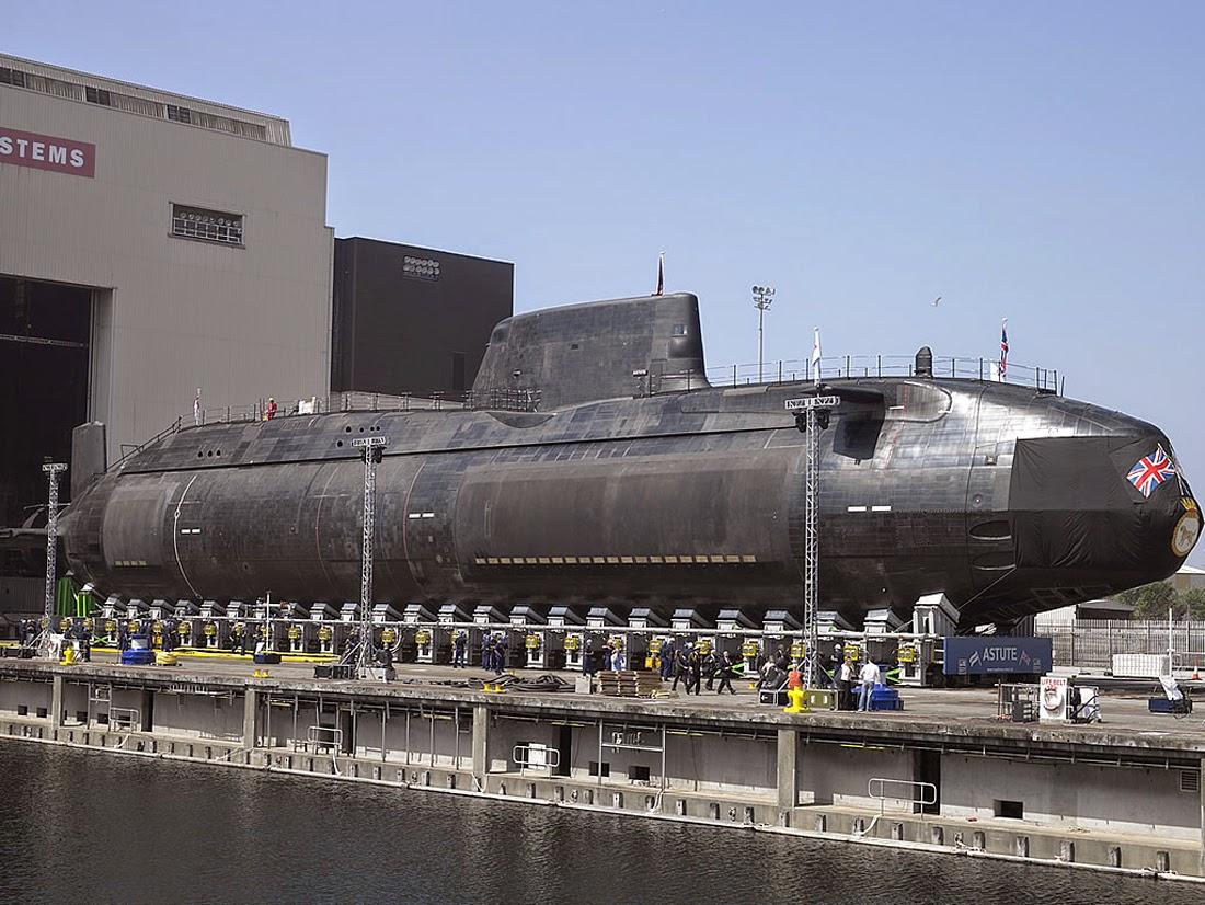 Astute SSN Submarine