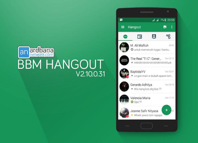 BBM Hangout