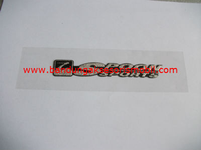 Emblem Metalic Besar Lower Spoon Sport