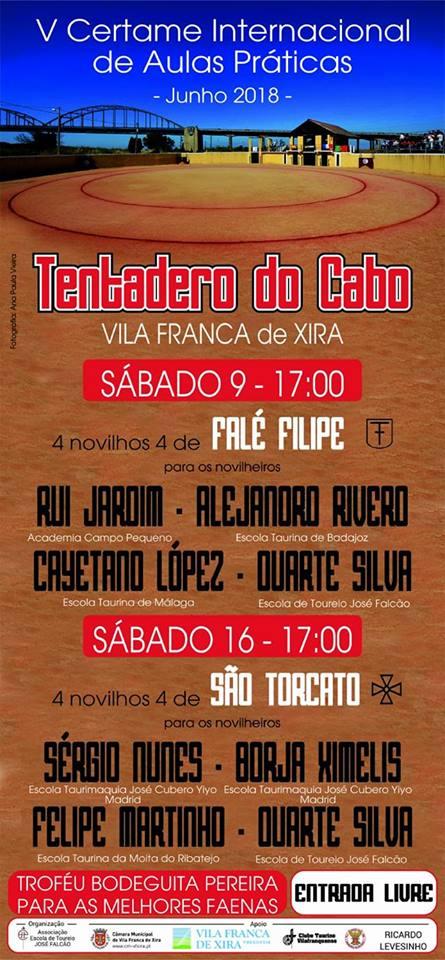 VILA FRANCA DE XIRA - TENTADERO DO CABO (PORTUGAL) V CERTAME INTERNCIONAL DE AULAS PRÁTICAS.