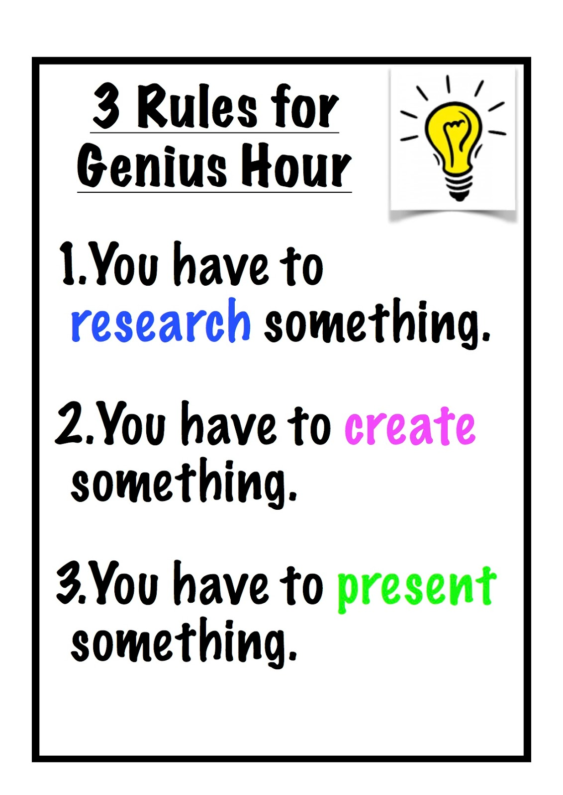 Genius Hour: 20% Project (Work In Progress :) - Lessons - Tes Teach