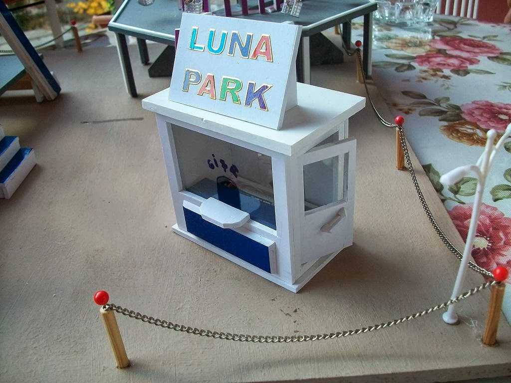 K k eyler minyat r hobi luna park zel sipari for Puerta 7 luna park