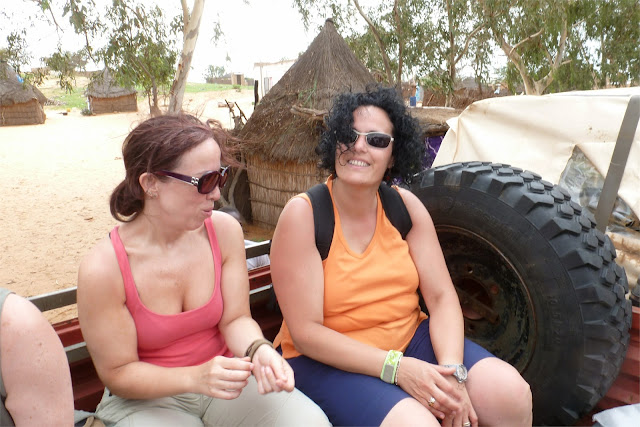 Camino al Campamento del desierto
