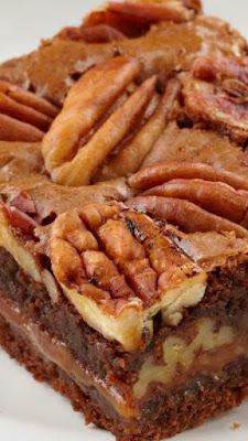 Caramel-Pecan Brownies | FoodGaZm..