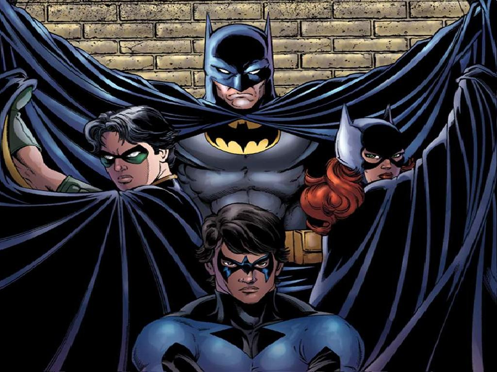 Batman and robin and batgirl