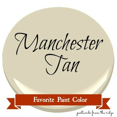 Favorite paint color benjamin moore manchester tan for Most popular tan paint color
