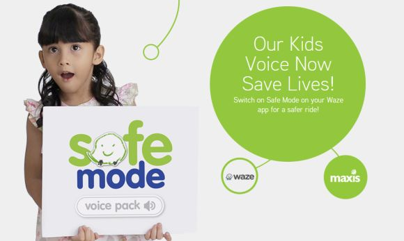 Maxis Waze Safe Mode Kids Campaign - Safe Mode Voice Pack