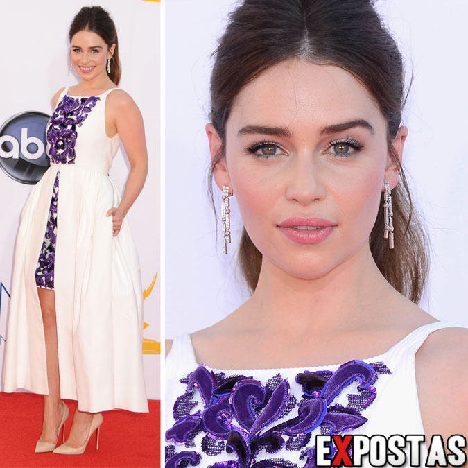Emilia Clarke: 64th Primetime Emmy Awards - Nokia Theatre em Los Angeles - 23 de Setembro de 2012
