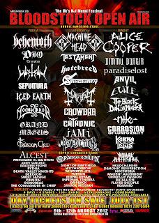 Cartel Festival Bloodstock Open Air 2012