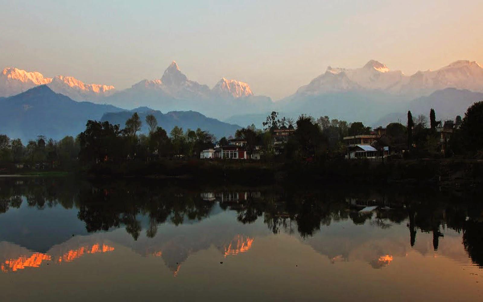 pokhara the city of lakes