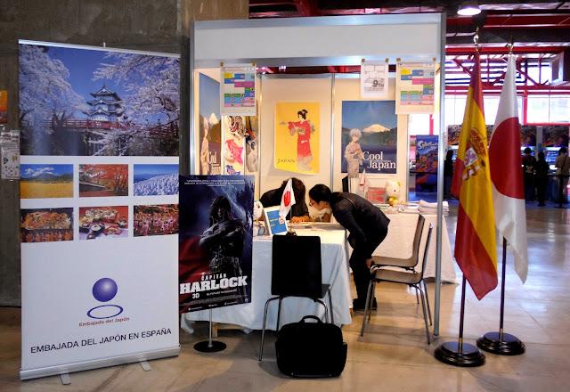 consulado del japon en españa expomanga 2015