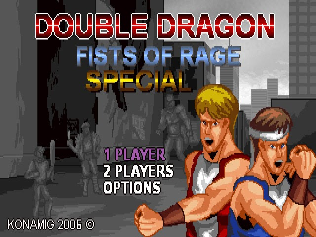 Double Dragon Fists Of Rage PC Capa