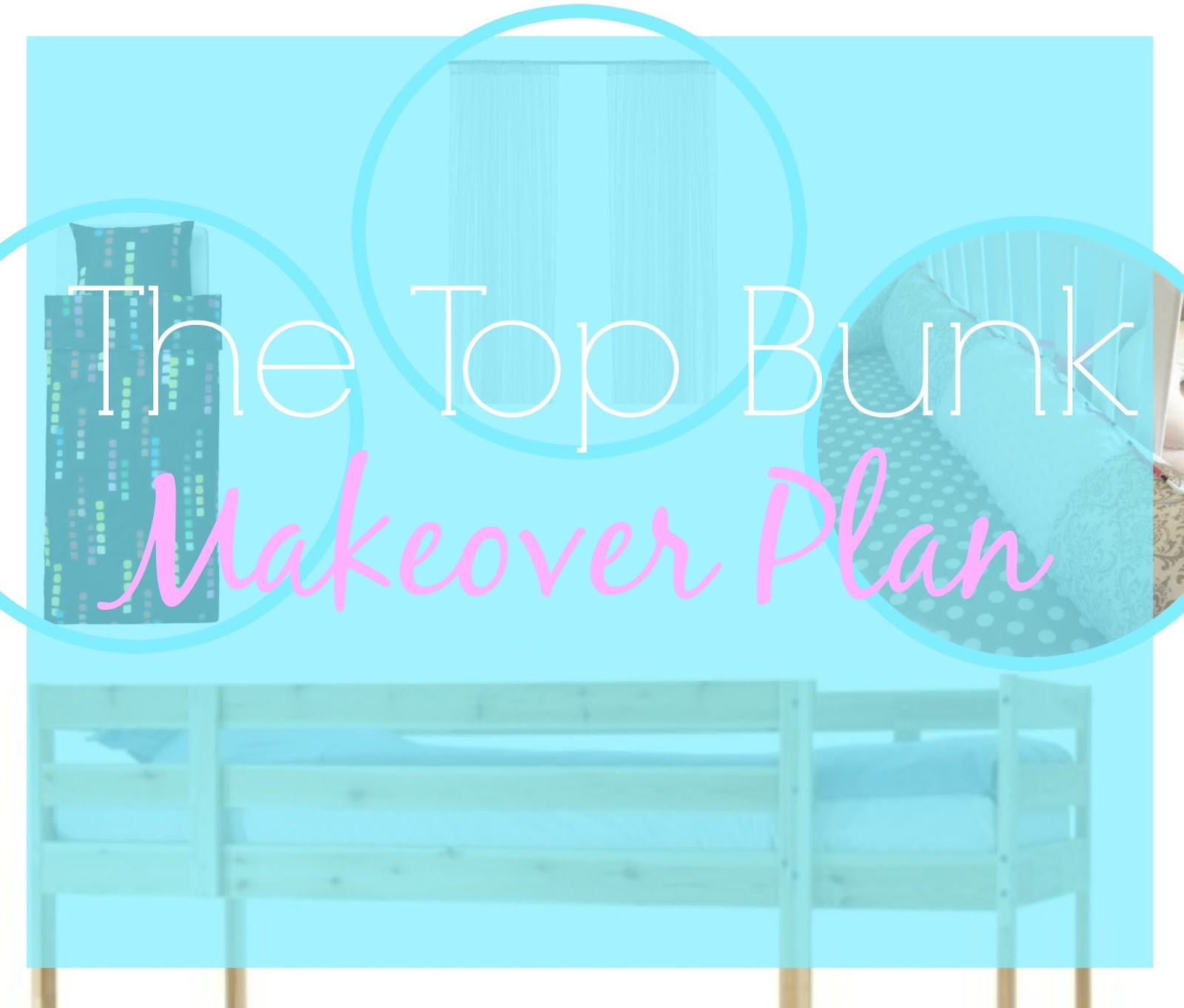 bunk bed makeover plan