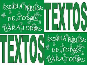 Textos Marea Verde