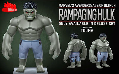 Marvel's Avengers Age of Ultron Artist Mix Figures Series 2 by Touma & Hot Toys - Rampaging Hulk
