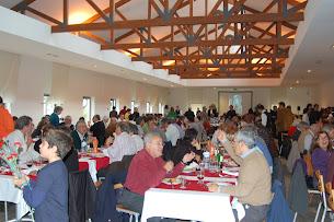 O almoço foi aqui no dia 12 de Novembro