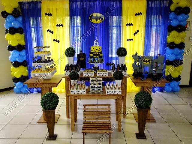 decoração festa infantil batman porto alegre