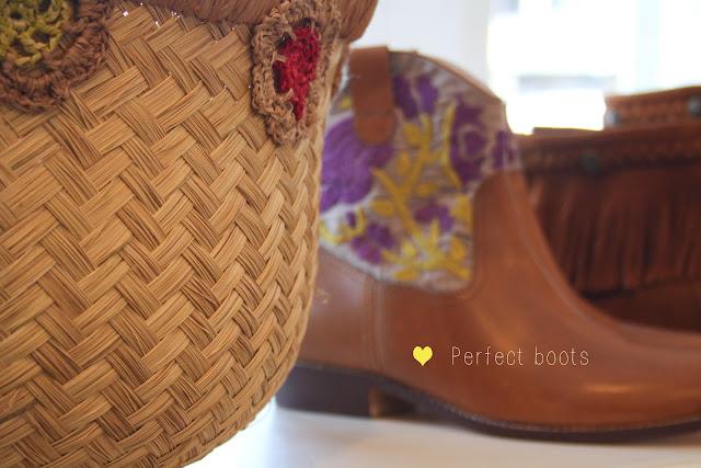 boots antik batik brodées Boutique Hossegor ©lovmint