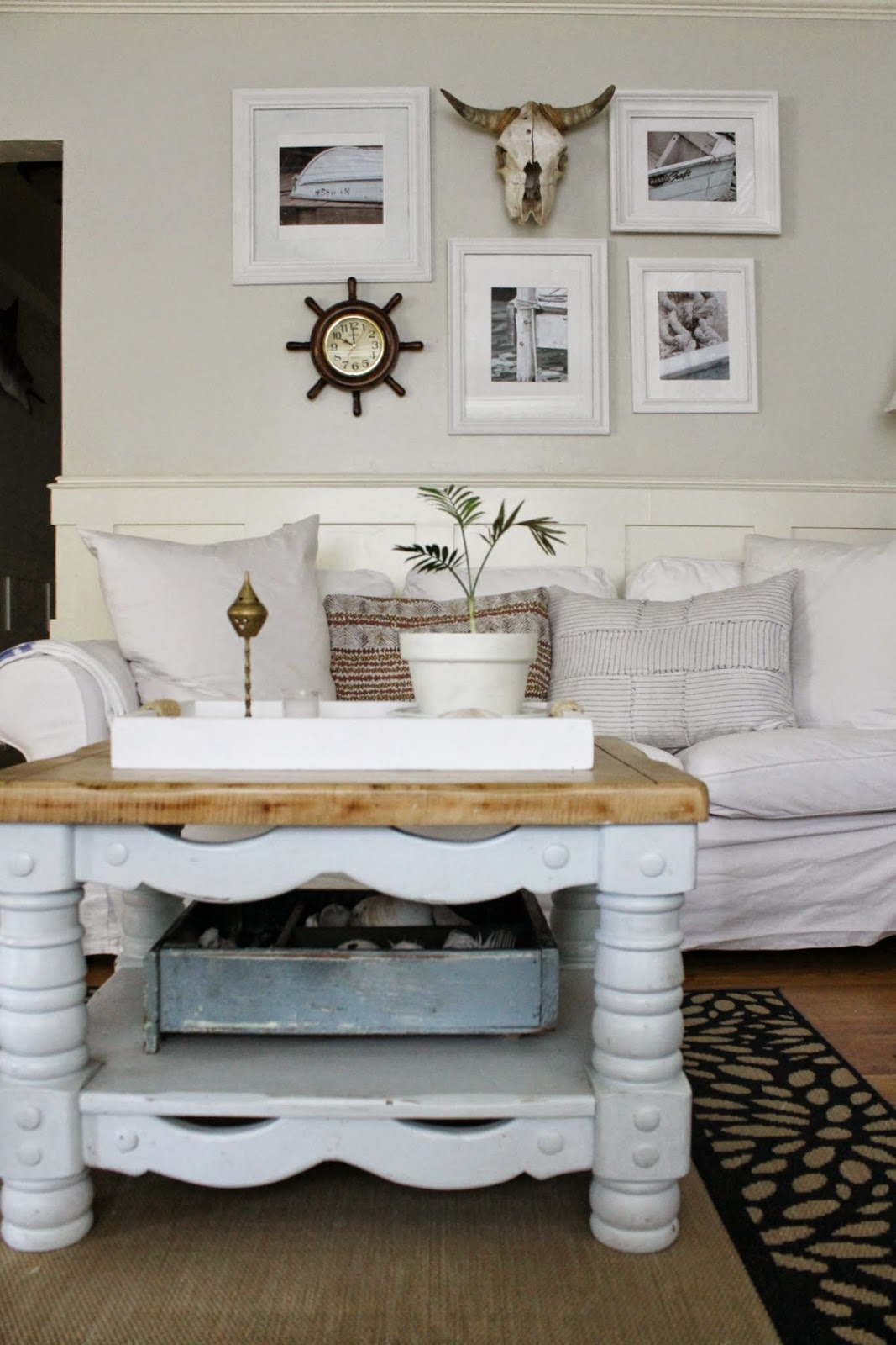 Free Spirited Living Room - The Wicker House