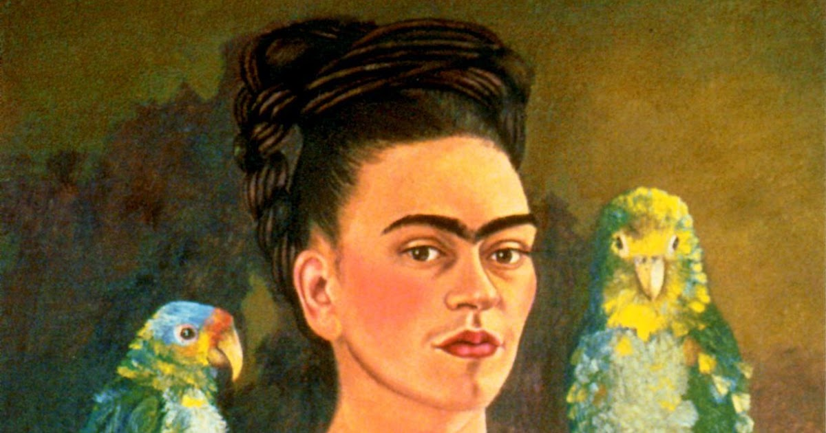 Hannah May Degree Blog: Beginning Assignment Five Frida Kahlo Self Portrait