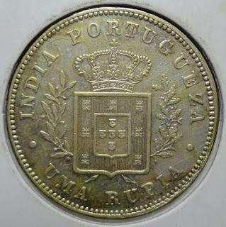 portuguese india uma rupia