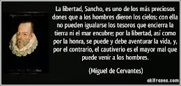 OID, SANCHOS DEL MUNDO.....