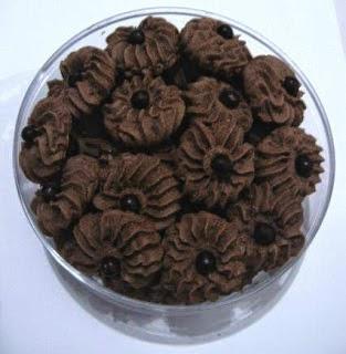 Resep kue kering coklat praktis