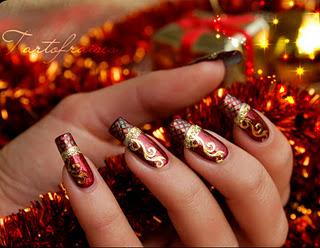 Christmas Nail Art 2011