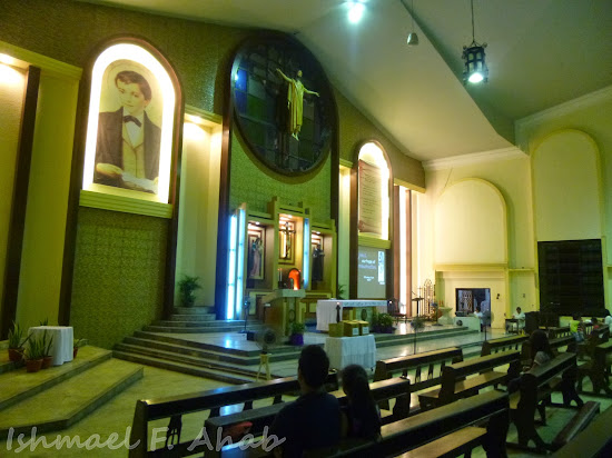 Altar of Saint Dominic Savio Church