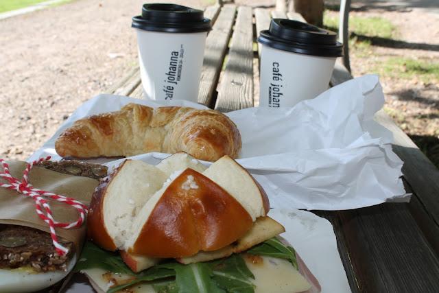 Frühstück to go Cafe Johanna Hamburg