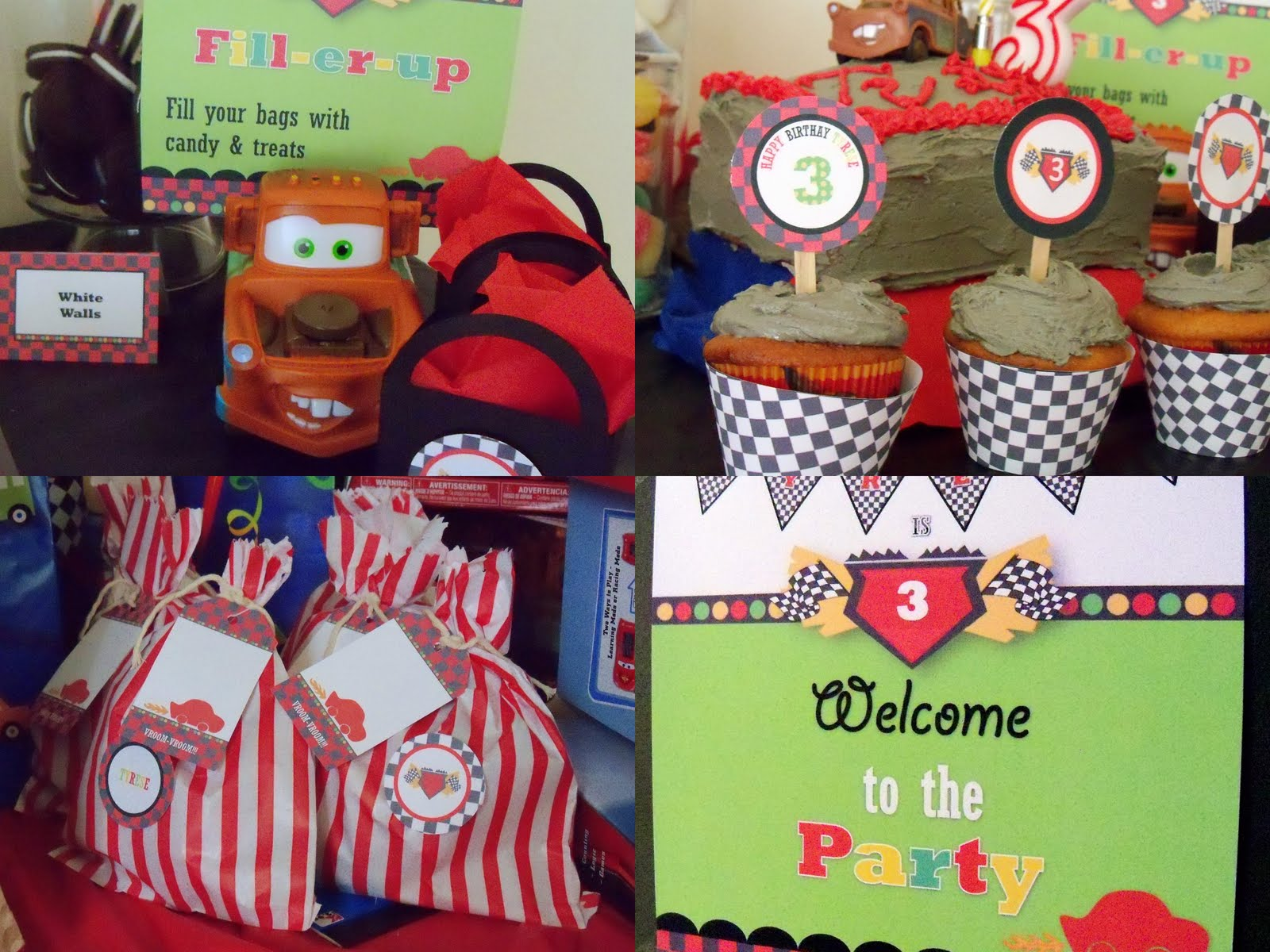 Cars Party Decorations Candy Bag Idea Google Image Result For Http 1bpblogspotcom