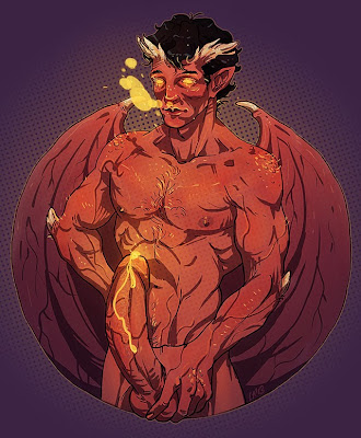 Naked Smaug from The Hobbit NSFW