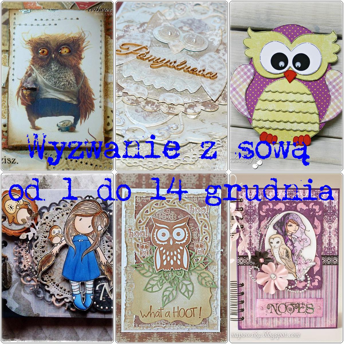 http://scrapcafepl.blogspot.ie/2013/12/588-wyzwanie-z-sowa_1.html