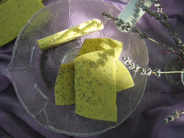 Jabón de semillas de amapola