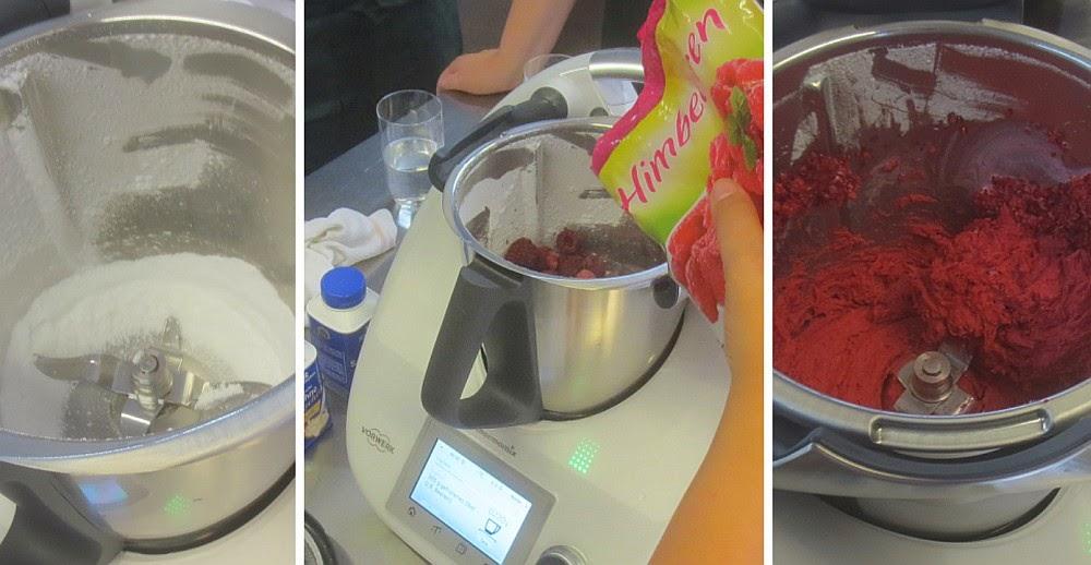 Zubereitung Fruchteis im Thermomix TM5