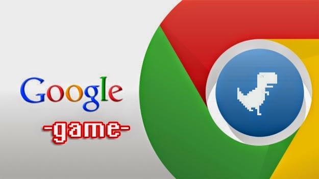 Game Tersembunyi Di Dalam Google Chrome Apabila Terputus Internet