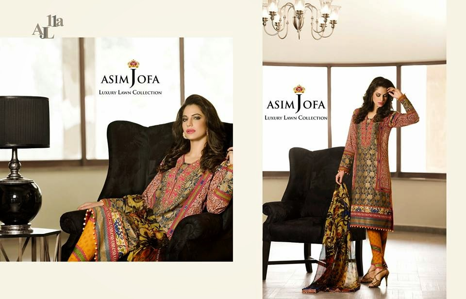 Asim Jofa Luxury Summer Collection 2015