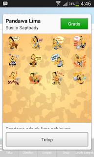 Cara Mendapatkan Sticker Gratis Preview 1