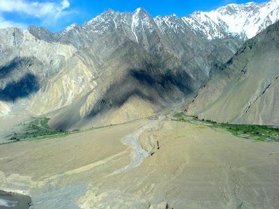 Passu - Zarabad Village from Karakoram Highway