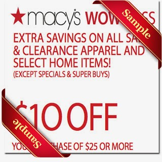 Macys printable coupons 2014