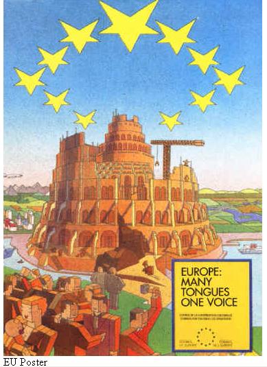 euposter Το κρυφό μήνυμα του κτιρίου του Ευρωπαϊκού Κοινοβουλίου