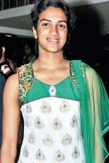 Female Badminton Player PV Sindhu