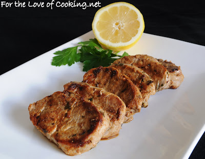 Mediterranean Pork Medallions | For the Love of Cooking
