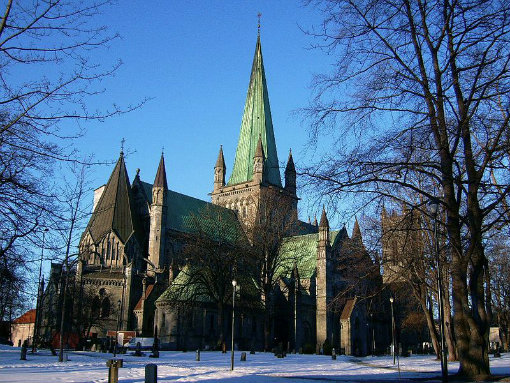 Catedral de Nidaros, em Trondheim