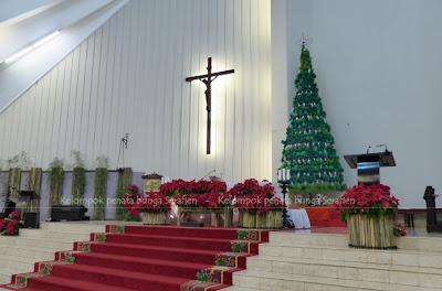 serafien - perangkai bunga liturgis: dekorasi natal dari