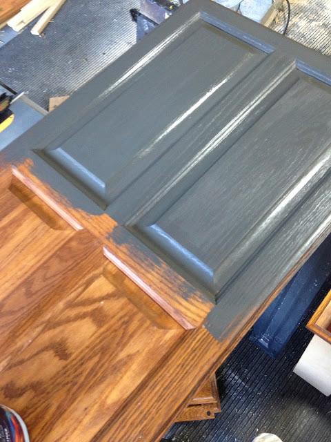 Pine Tree Home Camper Painting Fake Oak Panels And Plastic Stuff