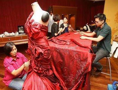 most expensive dress jendela kl