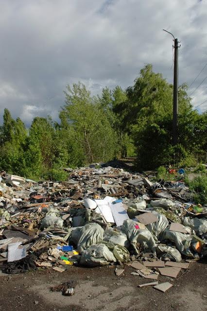 Фото Виталия Бабенко: мусорная свалка