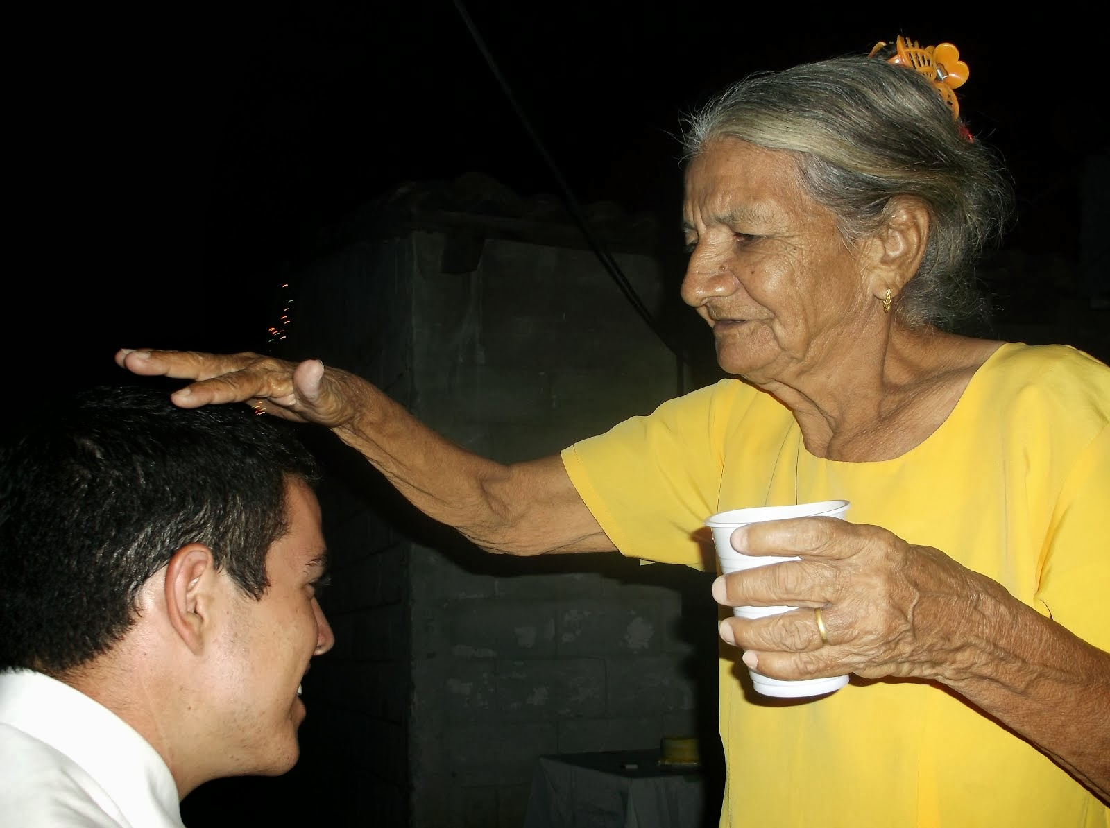 Traditional Honduran Mother's Blessing